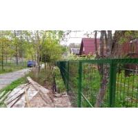 Забор для дачи из сетки гиттер (сварной забор) 550 за м.п.