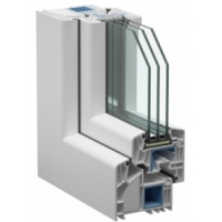 Пластиковое окно Veka с установкой  Euroline