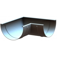 Специальный угол желоба LINKOR (алюминий 1,2мм)  Диаметр 120мм