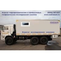 Агрегат исследования скважин АИС-1 КАМАЗ-43114 депарафинизация