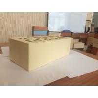 Кирпич облицовочный утолщенный Комбинат керамических изделий цвет Солома (желтый)