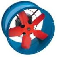 новый вентилятор осевой ВО серия 01 канальный Ø 400  ВО-21-210 Б 4-ДУ-4