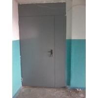 металлические двери  карманные перегородки