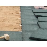 Резиновая тротуарная плитка 500*500*40