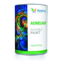 Невидимая флуоресцентная краска для текстиля AcmeLight UVLight Textile