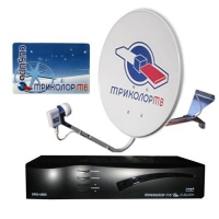 Триолор ТВ- спутниковое телевидение, антенна, комплект Триколор Gs8304/8302