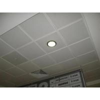 Подвесной потолок кассетный метал. белый размер 595х595 мм. Албес