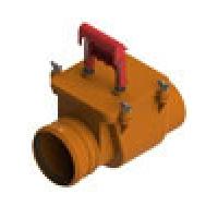 ТП-85.100 Обратный клапан канализационный Татполимер ТП-85.100 Обратный клапан канализационный