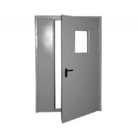 Дверь противопожарная 2100х2100 Кондр двустворчатая