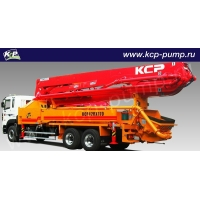 Автобетононасос KCP Heavy Industries CO 42RX170 на шасси HYUNDAI