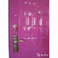 Дверь входная металлическая (мдф) под ключ