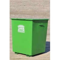 Контейнер для мусоровозов с боковой  загрузкой  с полезным объёмом 0,75 м3
