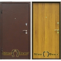 Входные металлические двери СильверДорс Модель Сильвер-1