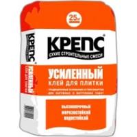 Клей для керамогранита KREPS УСИЛЕННЫЙ  (25кг) для наружных и внутренних работ