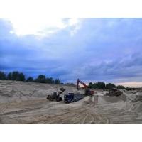 Доставка речного песка в Нижнем Новгороде от производителя.