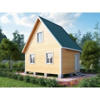 Дом из профилированного бруса 6х4 м