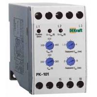 Реле контроля фаз серии РК-101 01 DEKraft