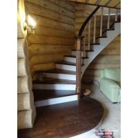 Лестницы из массива березы