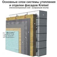 """Система теплоизоляции фасада """"мокрого"""" типа KREISEL с применением минеральной ваты"""