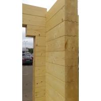 клееный конструкционный брус Современные деревянные  дома