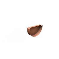 Заглушка желоба LINKOR (алюминий 1,2мм)  Диаметр 150мм
