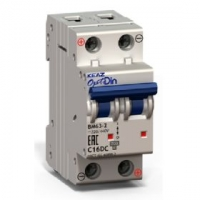 Выключатель автоматический модульный OptiDin ВМ63-2C3-DC-УХЛ3 КЭАЗ OptiDin ВМ63-2C3-DC-УХЛ3