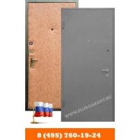 Двери стальные Гарант Плюс с отделкой покрас нитроэмалью-винилискожа