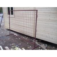 Инвентарные строительные ограждения, заборы.