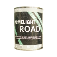 Светящаяся в темноте краска для разметки  Acmelight Road