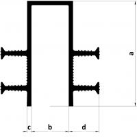 Гидрошпонка LITAPROOF UC 140-50/40