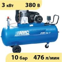 Масляный ременной компрессор ABAC B3800B/100 PLUS CT4