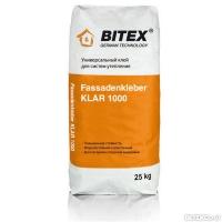 Клей фасадный универсальный BITEX FassadenKleber Klar 1000