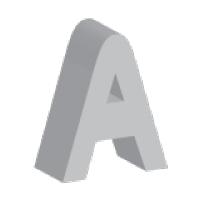 Пластиковые объемные буквы