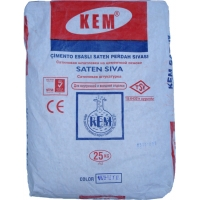 Финишная цементная штукатурка «КЕМ»