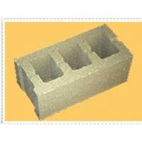 Блок стеновой вибропрессованный (шлакоблок) гладкий Амиант 390х190х188