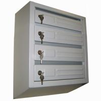 Почтовые ящики для подъезда  4-секционные