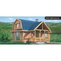 Проект деревянного дома 70-05 Вертикаль 70-05