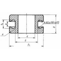 Втулка защитная для электропроводов РТИ арт. 4-5 (6,5)