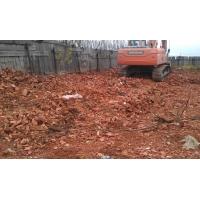 Битый кирпич  строительный мусор