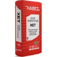 """Клей плиточный для отделочных работ в сухих и влажных помещениях Habez-Gips """"Хет"""""""