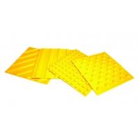Тактильная плитка, тактильные полосы для слабовидящих ПластФактор