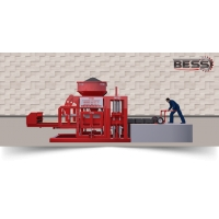 Полуавтоматический вибропресс для изготовления стеновых блоков BESS МАШИНА PRS 400