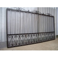 Ворота металлические сварные, ковано сварные