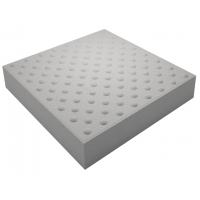 Тактильная плитка для улицы конусообразные рифы 50х50х5 серая
