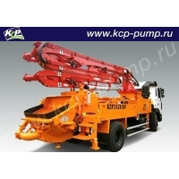Автобетононасос KCP Heavy Industries CO 24ZX100 на шасси HYUNDAI