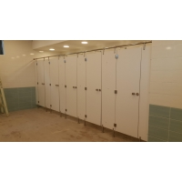 Пластик конструкционный для кабин туалетных разделительных DUROPAL hpl compact 12 мм самонесущий