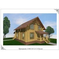 Проект дома, брус, 190 кв. м