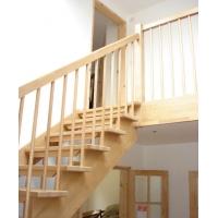 Деревянные лестницы HOLZ на косоурах