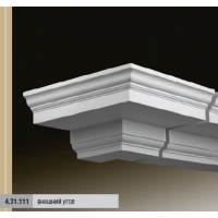 Лепнина из полиуретана для фасадов Европласт 4.13