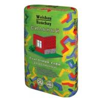 Сухие смеси WEISBAU (Вайсбау Плиточный клей СИЛЬНЫЙ адгезия 1 МПа 25 кг